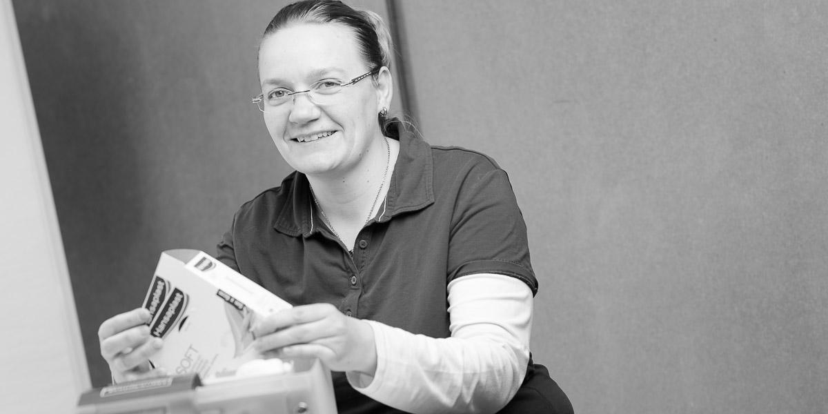 Mitarbeiterin ambulanter Pflegedienst seniormobil Bad Grönenbach im Allgäu Silvia Schlosser